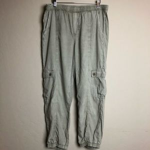 Anthropologie loose fit jogger style pant